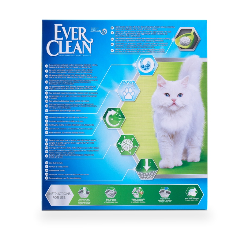 Ever Clean Extra Strong Clumping Cat Litter Scented 10L