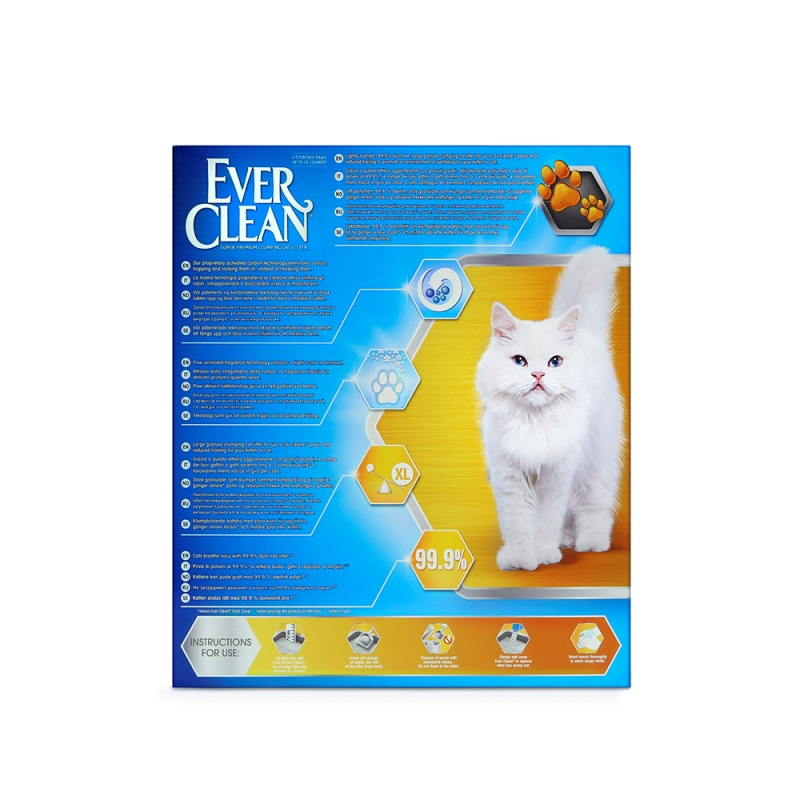 Ever Clean® Litterfree Paws Clumping Cat Litter, 6lt, Αρωματική Litterfree Paws 6L